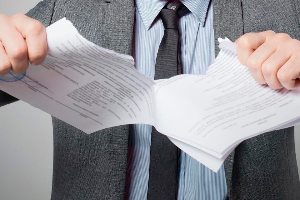 Расторжение страховки после погашения задолженности