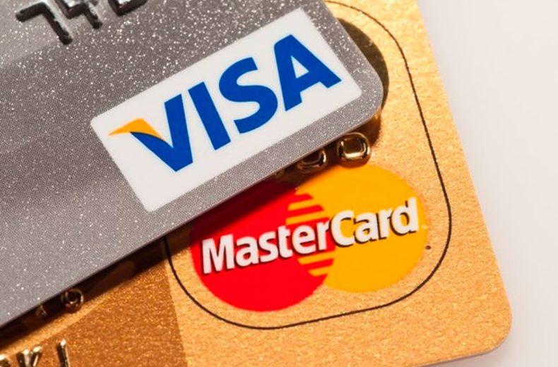 Карты платежных систем Visa и Mastercard
