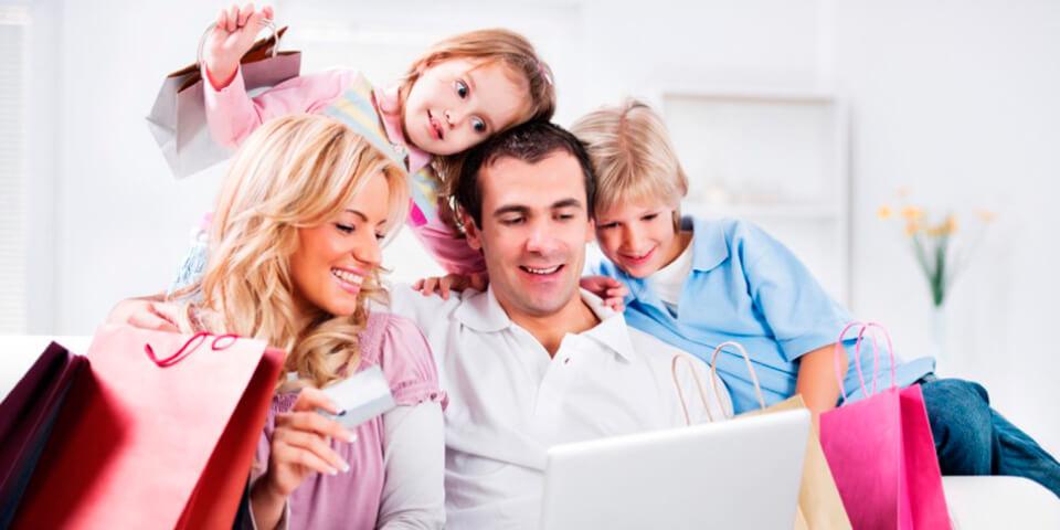 Семья, Покупка товара онлайн