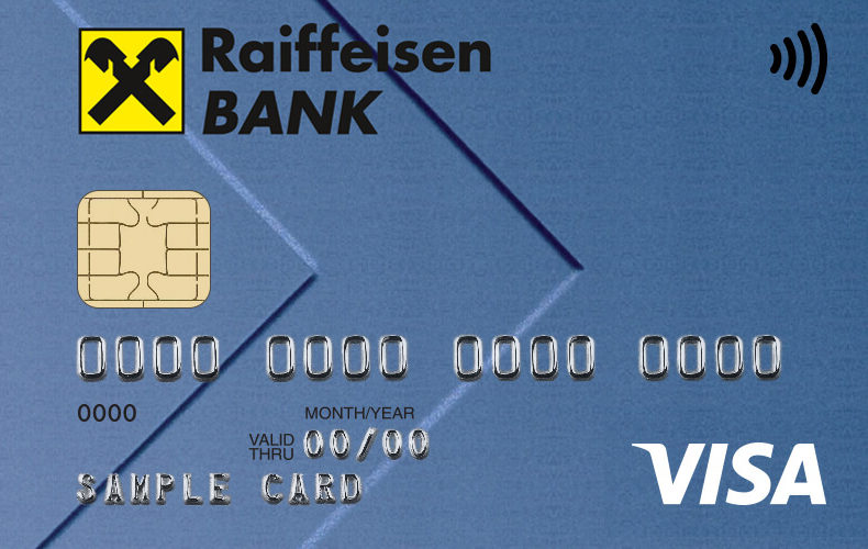 Кредитная карта «Наличная карта» от Райффайзенбанка