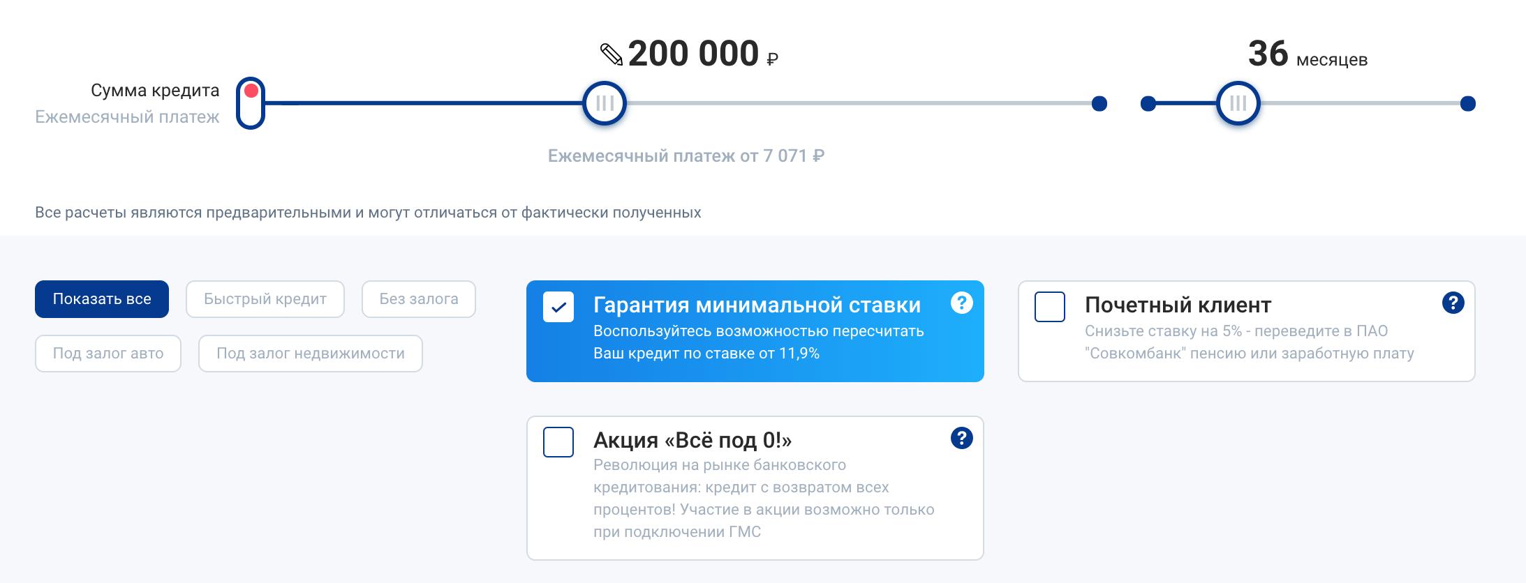 200 процентный кредит