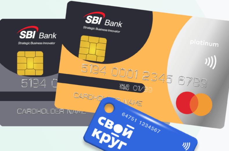 Дебетовая карта «Свой круг» от SBI bank
